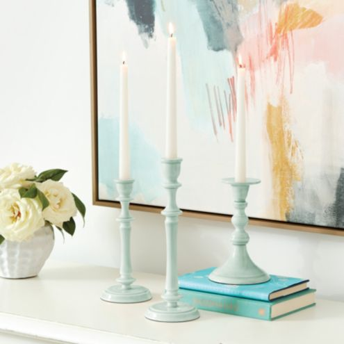 Stella Candlestick Holder Set