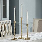Bamboo Candlesticks