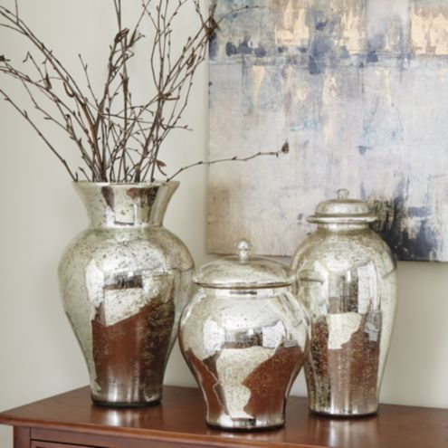 Mercury Glass Vases