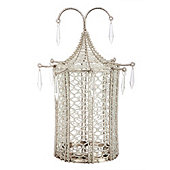 Bunny Williams Beaded Pagoda Flameless Candle Cover