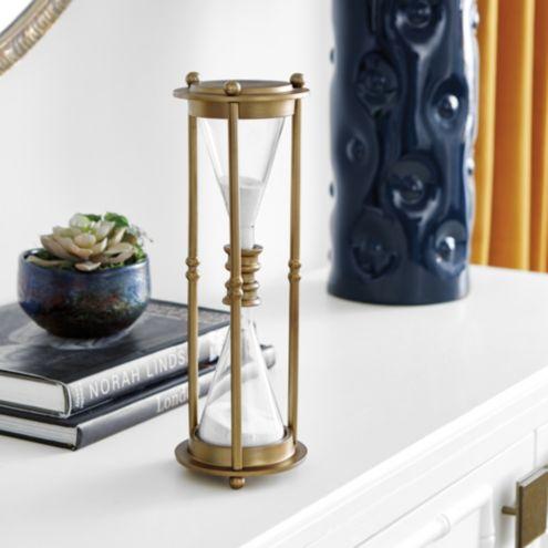 Malcolm Decorative Hourglass Ballard Designs - Decorative-hourglass