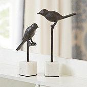 Garden Bird on Stand