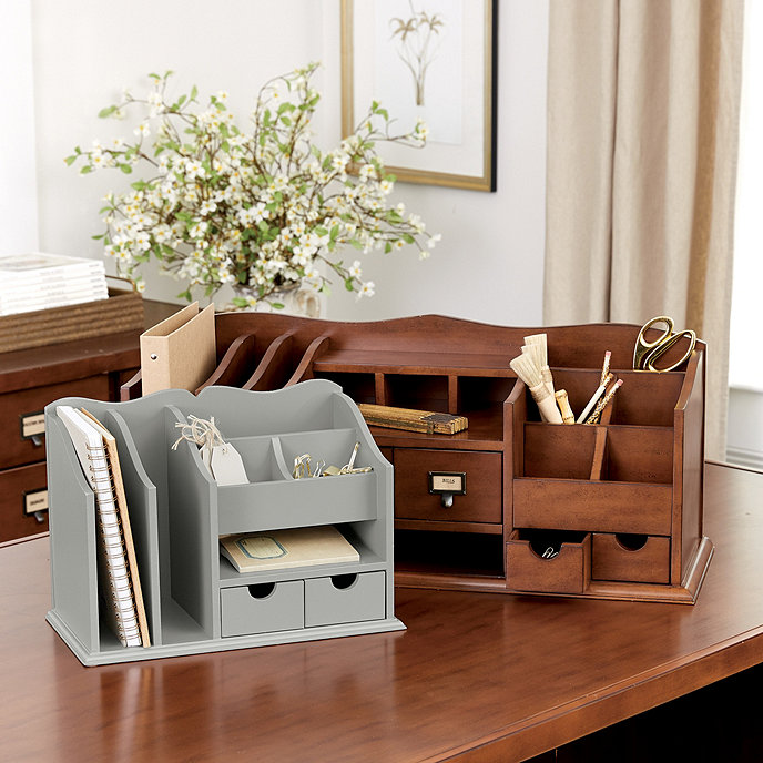 Ballard Design Desk original home office™ desk organizers | ballard designs | ballard