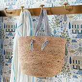 French Riviera Jute Tote