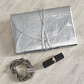 Metallic Envelope Pouch