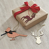 Woodland Paper Gift Tags - Set of 3