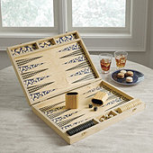 Wooden Backgammon Game