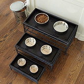 Pet Food Tray & Stand
