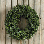 Preserved Boxwood Wreath 24 Inch