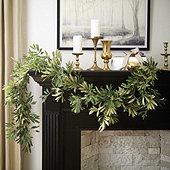 Olive Leaf 6' Garland