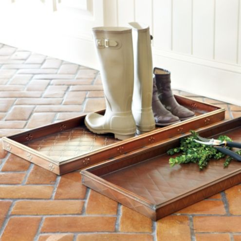 Entryway Boot Trays - Mudroom Boot Tray -