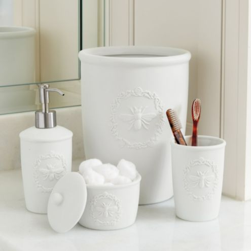 Bee Porcelain Bath Accessories