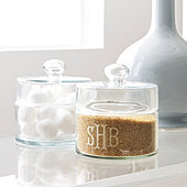 Classic Glass Canisters - Set of 2