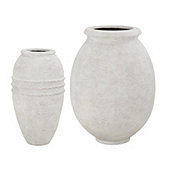 Campagna Olive Jar Small Planter - Select Finish