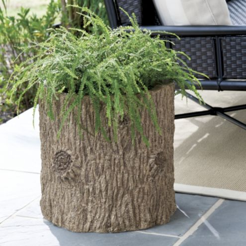 Bunny Williams Faux Bois Planter