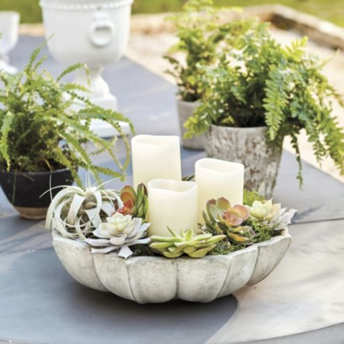 Lotus Outdoor Table Top Planter