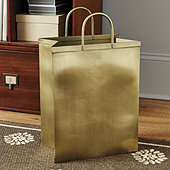 Bunny Williams Shopping Bag Waste Bin