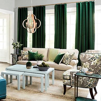 Drapery - Designer Window Treatments, Curtains & Panels ...