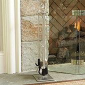 Miles Redd Deco Fireplace Tools