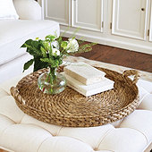 Braided Seagrass Tray