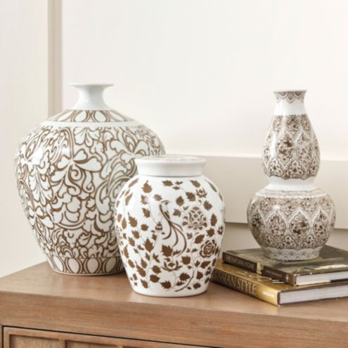 Canton Vase Collection Medium