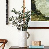 Olive Leaf Stems - Set of 3