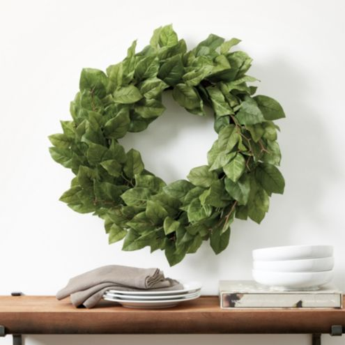 Lemon Leaf Wreath