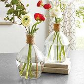 Jute Accent Vase