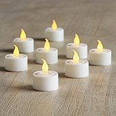Flameless Tea Lights - Set of 8