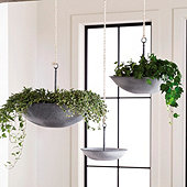Harlow Hanging Planters - Assorted Set of 3