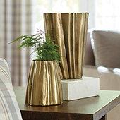 Suzanne Kasler Gold Vase