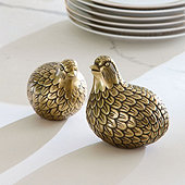 Partridge in a Pair Salt & Pepper Set