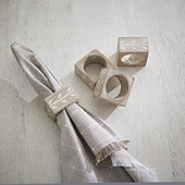 Abeba Napkin Rings - Set of 4