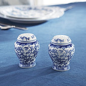 Chinoiserie Salt & Pepper Set