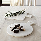 Hudson Marble Serving Boards