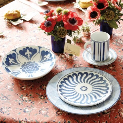 Bunny Williams 20-Piece Campbell House Dinnerware Set