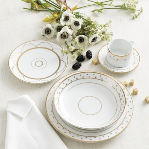 Bunny Williams Gold Star Dinnerware Collection