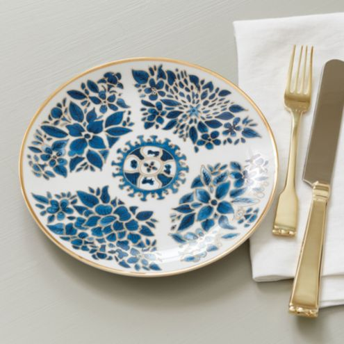 Ming Accent Plate - Set of 4