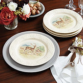 Into the Woods Accent Plates - Set of 4