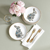 Ming Bunny Accent Plate - Set of 4