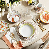 Bunny Williams Melange Dinnerware Collection