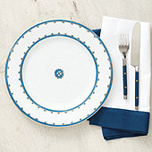 Ming Chinoiserie Dinner Plates - Set of 4