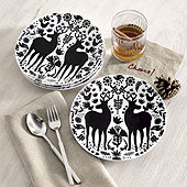 Yuletide Accent Plates - Set of 4