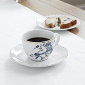 Ming Tea Cup & Saucer - Set of 4