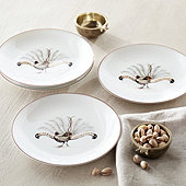 Middleton Pheasant Accent Plates - Set of 4