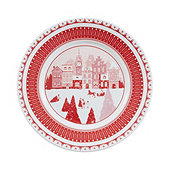 Jacqueline Holiday Accent Plate - Set of 4