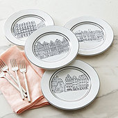 Architecture Accent Plates - Set of 4