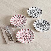 Millie Accent Plates - Set of 4