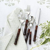 Bunny Williams Bamboo Tortoise Flatware