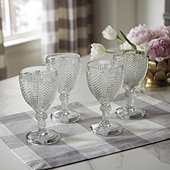 Havana Textured Goblets - Set of 4